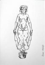 femme dos devant