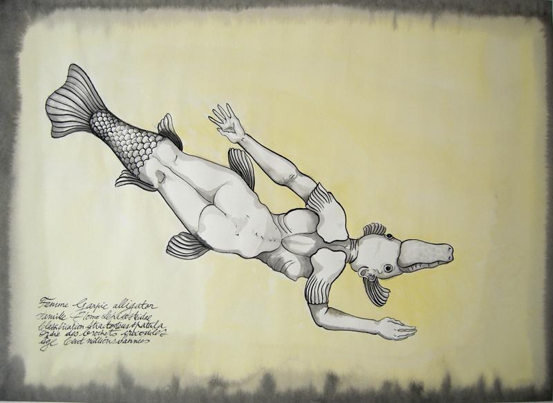 femme garpic alligator