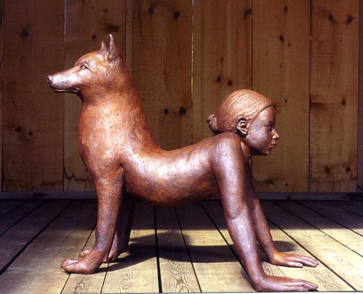 L'enfant loup (long 90 cm)