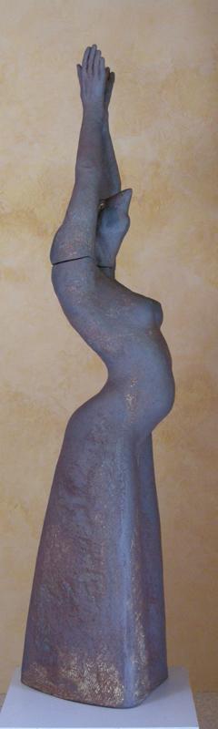 divine aux oiseaux (Ht 153 cm)