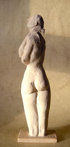 Femme torsadée ht 31 X 9,5 cm