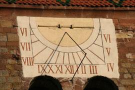 Tour romane de l'ancienne abbatiale de WISSEMBOURG Lien vers: http://www.terrus.fr/uploads/TerrusSculptureMarcRestauration/abbatiale_20080512075359_20080512075436.pdf